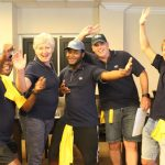 NJC systems integration specialists team building